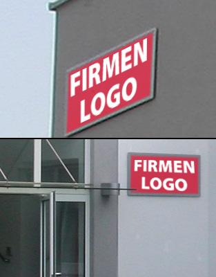 Firmen-Beschilderungsflächen / Orientierungssystem (P61)