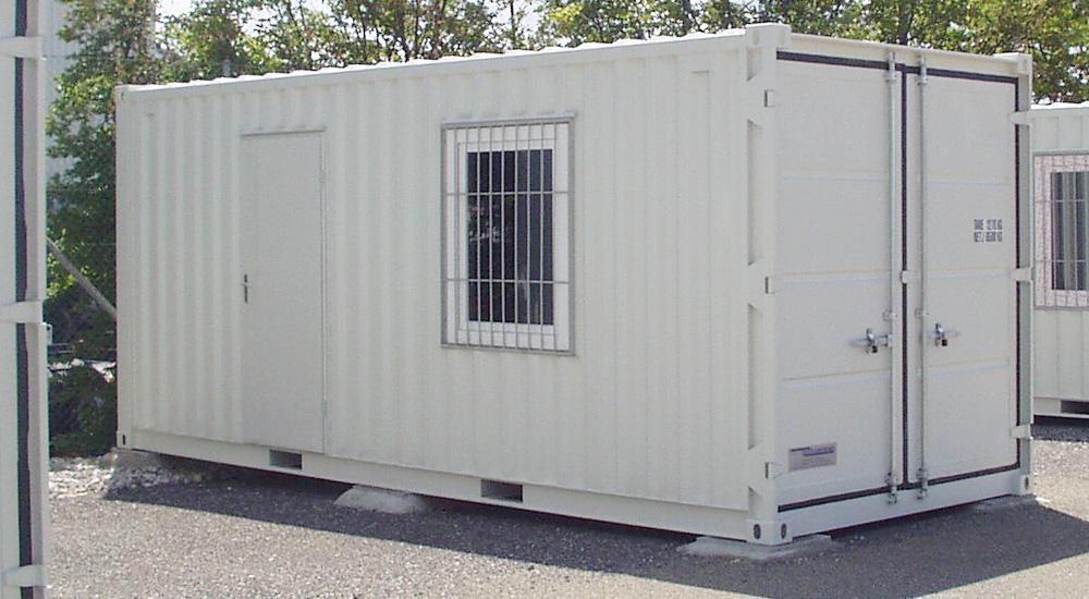 Container-Aussenansicht