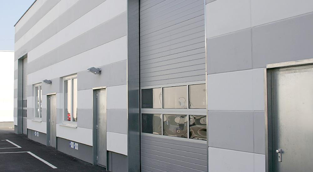 Hauptöffnungen eines Hallenbeispiels, Perfektastraße 61 Objekt 5